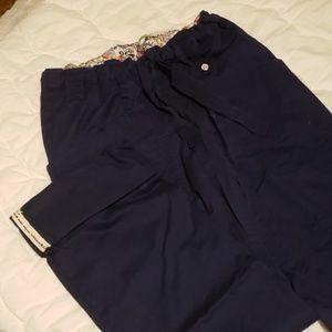 EUC adjustable length scrub pants